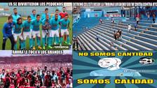 Sporting Cristal ganó a UTC pero no se salvó de los memes