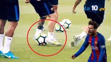 Youtube   Messi hizo una jugada de lujo en el entrenamiento de Barcelona