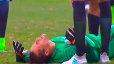 Hija de Leao Butrón le llamó la atención por seguir jugando pese a lesión