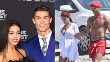 Cristiano Ronaldo confirmó el embarazo de su novia Georgina Rodríguez