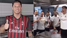 YouTube | Así fue le emotiva despedida del Milan a Lapadula al ritmo de 'Despacito'