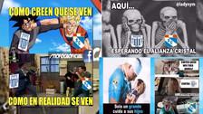 Los memes de la antesala del duelo entre Alianza Lima vs. Sporting Cristal