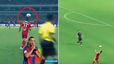 YouTube   James Rodríguez se lució con una jugada 'a lo Ronaldinho' ante Arsenal
