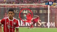 YouTube   La gran tapada de Cech que evitó el gol de volea de James Rodríguez