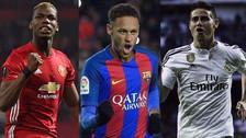Estos son los 15 fichajes más caros en la historia del fútbol