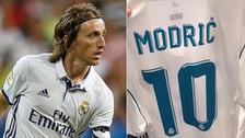 Modric heredó la 10 de James Rodríguez: así quedan los dorsales de Real Madrid