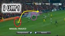 YouTube | Miguel Trauco casi anota un golazo en el triunfo de Flamengo ante Coritiba