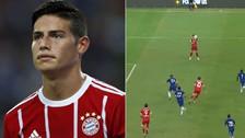 YouTube | El enfado de James Rodríguez tras fallar hasta cinco ocasiones de gol