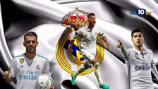 Fotos | Así es el once español de Real Madrid de Zinedine Zidane