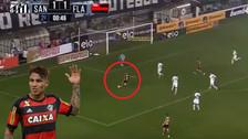 YouTube   Así fue el golazo de zurda de Paolo Guerrero ante Santos