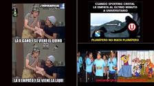 Los memes que dejó el empate de Universitario de Deportes ante Sporting Cristal
