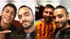Así fue el encuentro de Messi y Neymar con Maluma en Washington