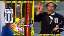 Memes se burlan de Alianza Lima y su triunfo sobre Juan Aurich