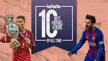 Los 10 mejores jugadores de la historia del fútbol