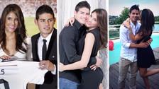 10 fotos de la relación de James Rodríguez y Daniela Ospina