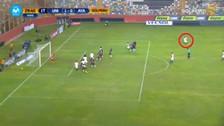 Juan Vargas anotó un golazo de tiro libre ante Ayacucho FC
