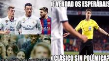 Los mejores memes de la previa al duelo entre Barcelona y Real Madrid