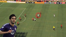 Kaká anotó un golazo con una definición 'tres dedos' en la MLS