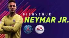 Neymar en Paris Saint Germain: así fue su presentación en el FIFA 18