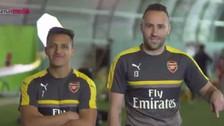 Alexis Sánchez se burla de David Ospina en nuevo comercial del Arsenal