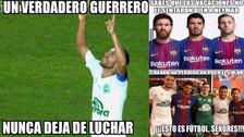 Chapecoense protagoniza los memes tras perder contra Barcelona