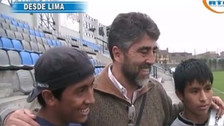 Christian Cueva protagoniza video inédito de su llegada a la San Martín