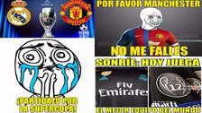 Los mejores memes de la previa del partido entre Real Madrid y Manchester United
