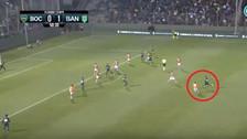 YouTube | Cardona se lució con golazo de 35 metros en triunfo de Boca Juniors