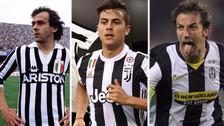 Las grandes estrellas que han usado la '10' en la Juventus