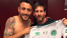 Alan Ruschel reveló lo que dijo Lionel Messi durante partido amistoso