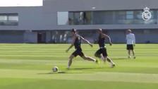 YouTube | El misil de Gareth Bale en práctica del Real Madrid