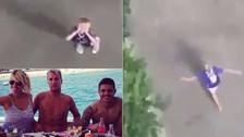 YouTube | Hijo de Maxi López celebró la convocatoria de Icardi a Argentina
