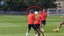 YouTube | Así se divirtió Neymar con Verratti en los entrenamientos de PSG