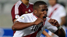 Así celebró Jefferson Farfán su regreso a la Selección Peruana