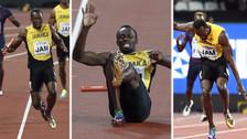 Usain Bolt se lesionó y se despidió del atletismo sin acabar su carrera