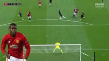 Paul Pogba anotó un golazo en la goleada del Manchester United