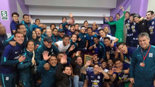 Así festejó Alianza Lima en el vestuario tras ganar el Torneo Apertura