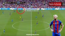 YouTube | La inútil persecución de Messi ante la gran corrida de Asensio