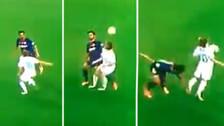 Modric se lució con un 'sombrerito' para dejar en el suelo a André Gomes