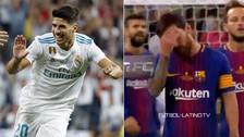 YouTube | Messi evidenció su frustración tras el golazo de Asensio ante Barcelona