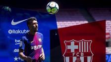 YouTube | Paulinho falló en las dominadas en su presentación en Barcelona