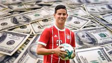 Football Leaks reveló el millonario sueldo de James Rodríguez en Bayern Munich