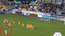 YouTube | Edison Flores casi anota un golazo de tiro libre en Dinamarca