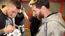 ¿Quién es el youtuber al que Messi le pidió un autógrafo?