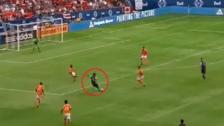 YouTube | Yordy Reyna anotó un golazo con un disparo desde fuera del área