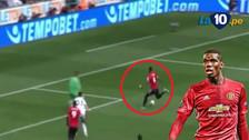 YouTube | Pogba marcó un golazo a lo Thierry Henry en triunfo de Manchester