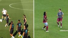 El control de Modric 'a lo Ronaldinho' en los entrenamientos del Real Madrid