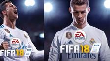 La portada actualizada del FIFA 18 con Cristiano Ronaldo