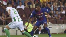 Semedo demostró su 'magia' y comienza a impresionar a los hinchas del Barcelona
