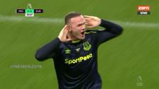 Rooney anotó ante Manchester City y alcanzó un récord en la Premier League